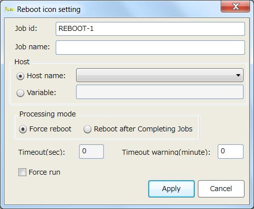 Reboot Setting